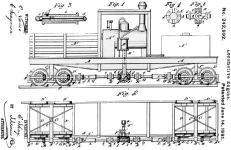 Plans For Building Shay Locomotive